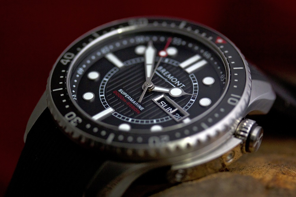 Bremont North Sea Supermarine 500 Limited Edition Watch ...