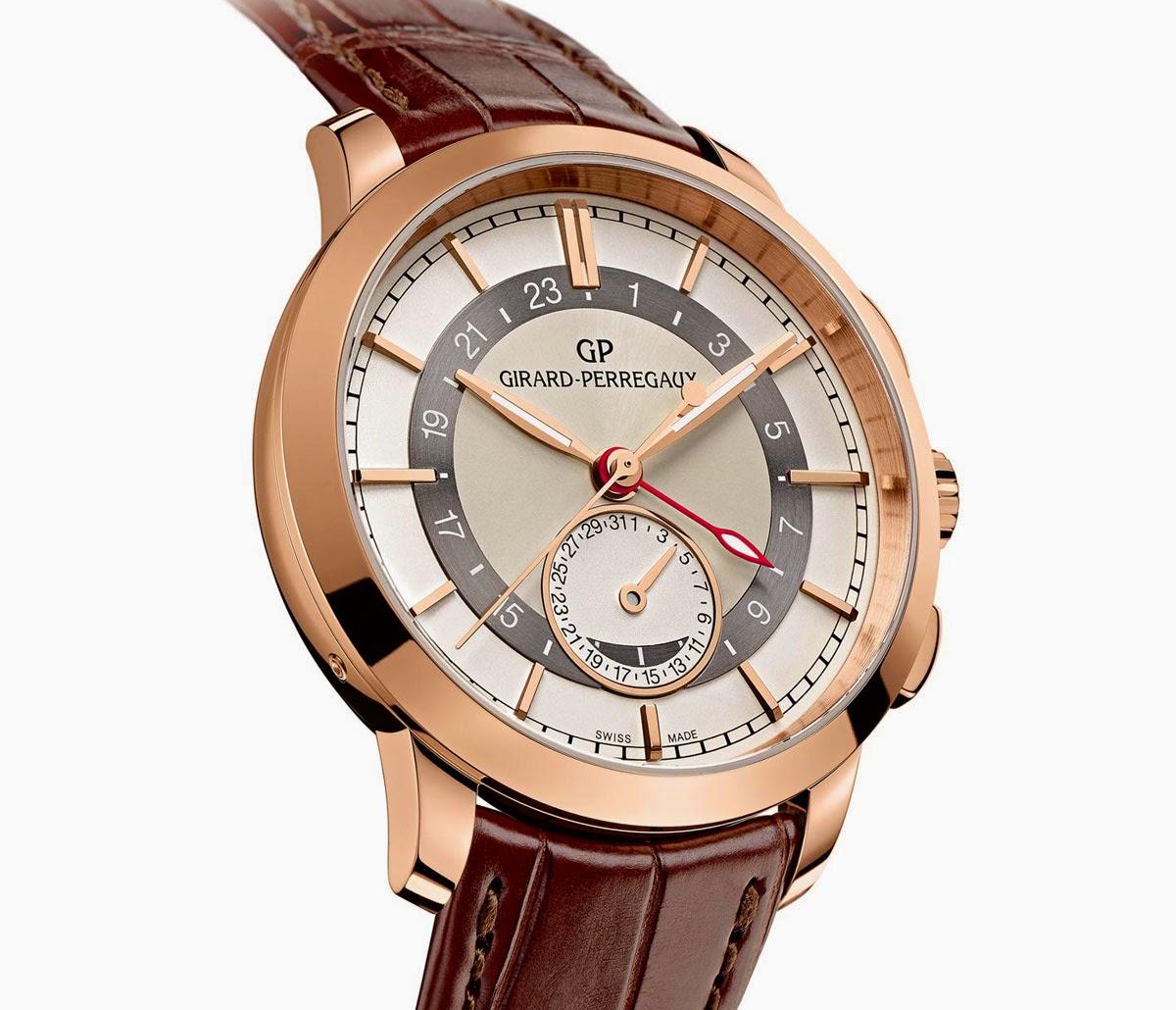 Watch Review-Girard-Perregaux 1966 Dual Time With 18K Rose ...