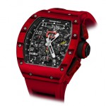Gorgeous And High-End Richard Mille RM 011 Red TPT Quartz Limited Edition Watch