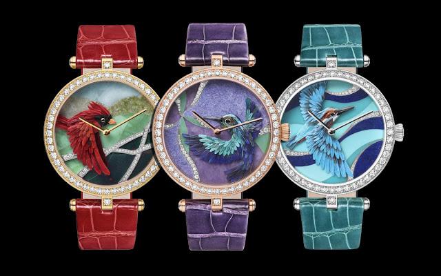 Van Cleef & Arpels Lady Arpels Oiseaux Enchantés Watches