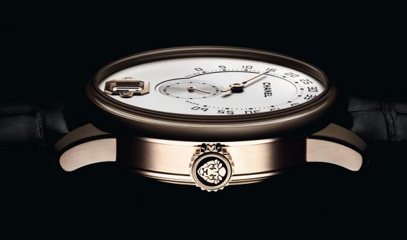 Side of Monsieur De Chanel man's watch