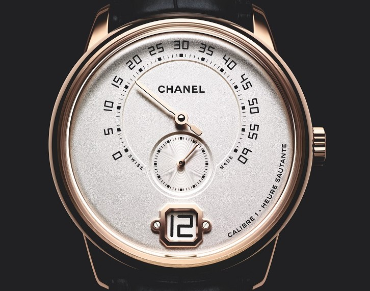 Front of Monsieur De Chanel man's watch