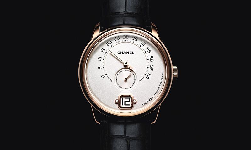 Front of Monsieur De Chanel man's watch 02