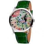 Extremely Exquisite-Hermes Slim D'Hermes Mille Fleurs Du Mexique Watch