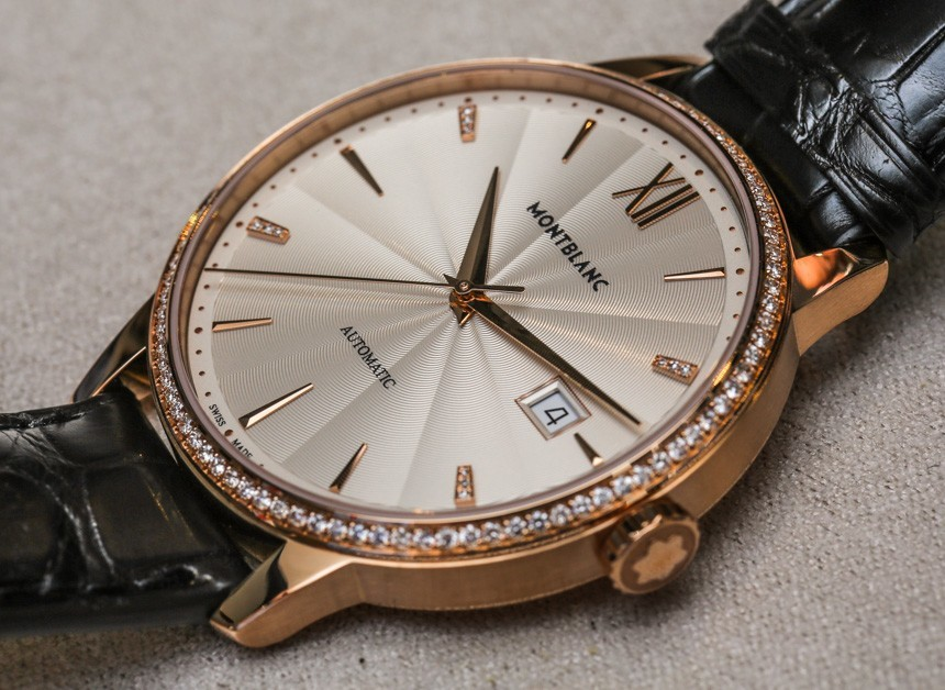 Montblanc Meisterstuck Heritage Spirit Date Automatic Diamonds watch