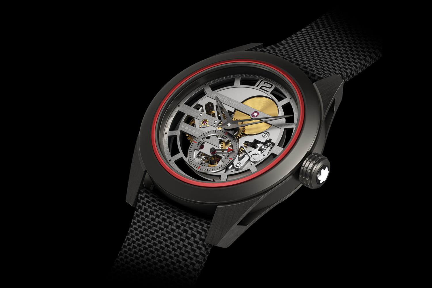 Side of Montblanc TimeWalker Pythagore Ultra-Light Concept Watch 02