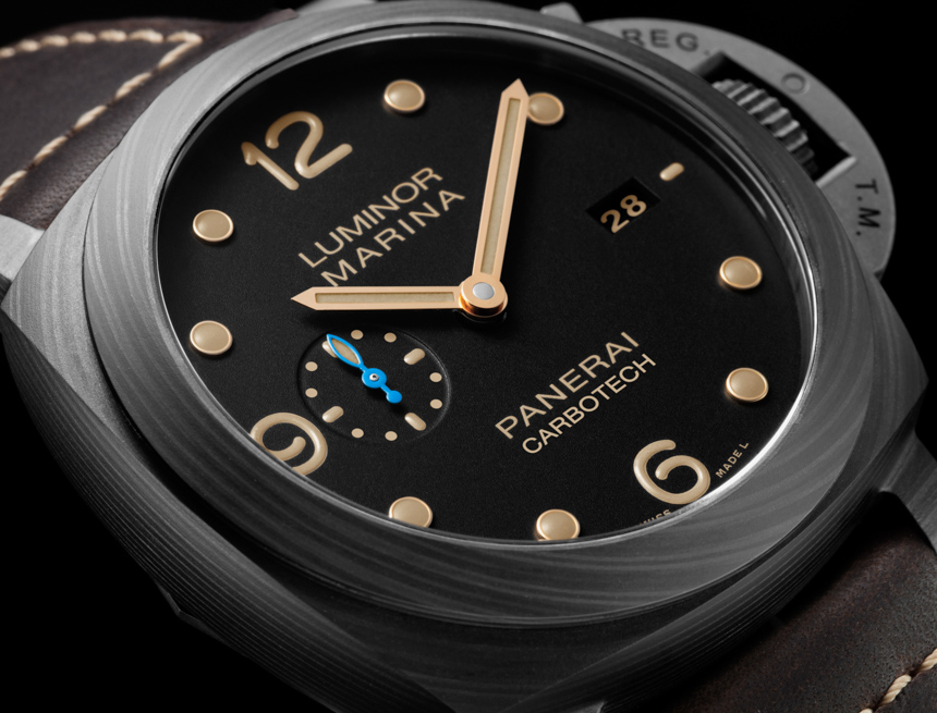 Side of Panerai Luminor Marina 1950 Carbotech 3 Days Automatic PAM661 02