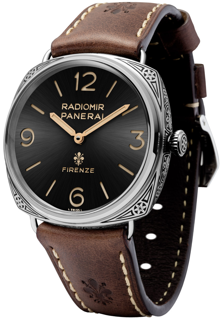 Side of Panerai Radiomir Firenze 3 Days PAM672 Watch