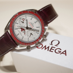 Omega Speedmaster Moonphase Co-Axial Master Chronometer Platinum Limited Edition Watch