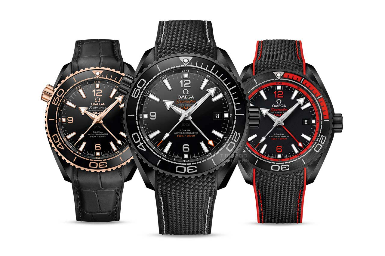 Omega Seamaster Planet Ocean Deep Black watches
