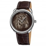 Stylish Hermes Arceau Tigre Limited Edition Watch