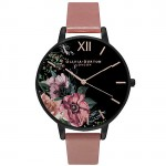 Olivia Burton OB15FS60 Women's After Dark Leather Strap Watch