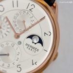 Ultra-thin watches Slim d'Hermès Perpetual Calendar