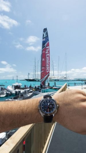 Omega provides precision timekeeping for Emirates Team New Zealand in America's Cup