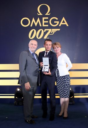 Omega hosts Bond-themed party in London to launch Seamaster Commander's limited edition