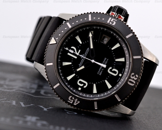 Side of Jaeger-LeCoultre Master Compressor diver's watch 02