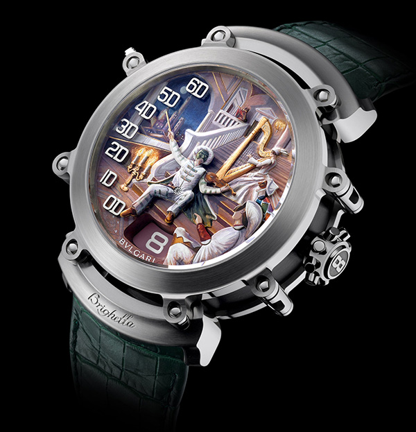 Quite Outstanding BVLGARI Retro Art Jewelry Watch