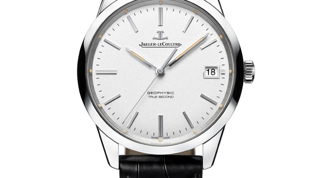 Front of Jaeger-LeCoultre Geophysic True Second