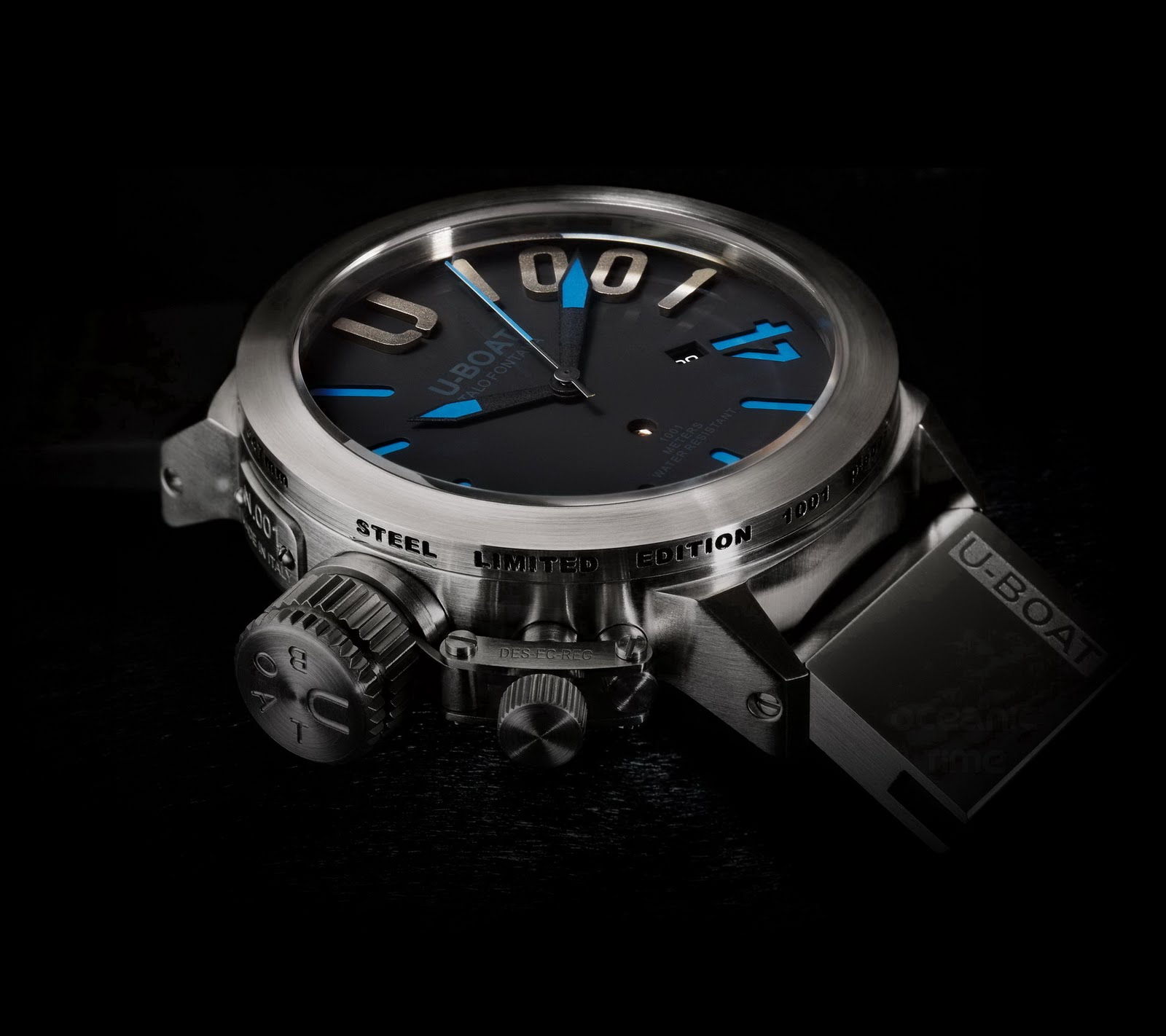 U-Boat Heavy Limited Edition Waterproof Watch-U 1001