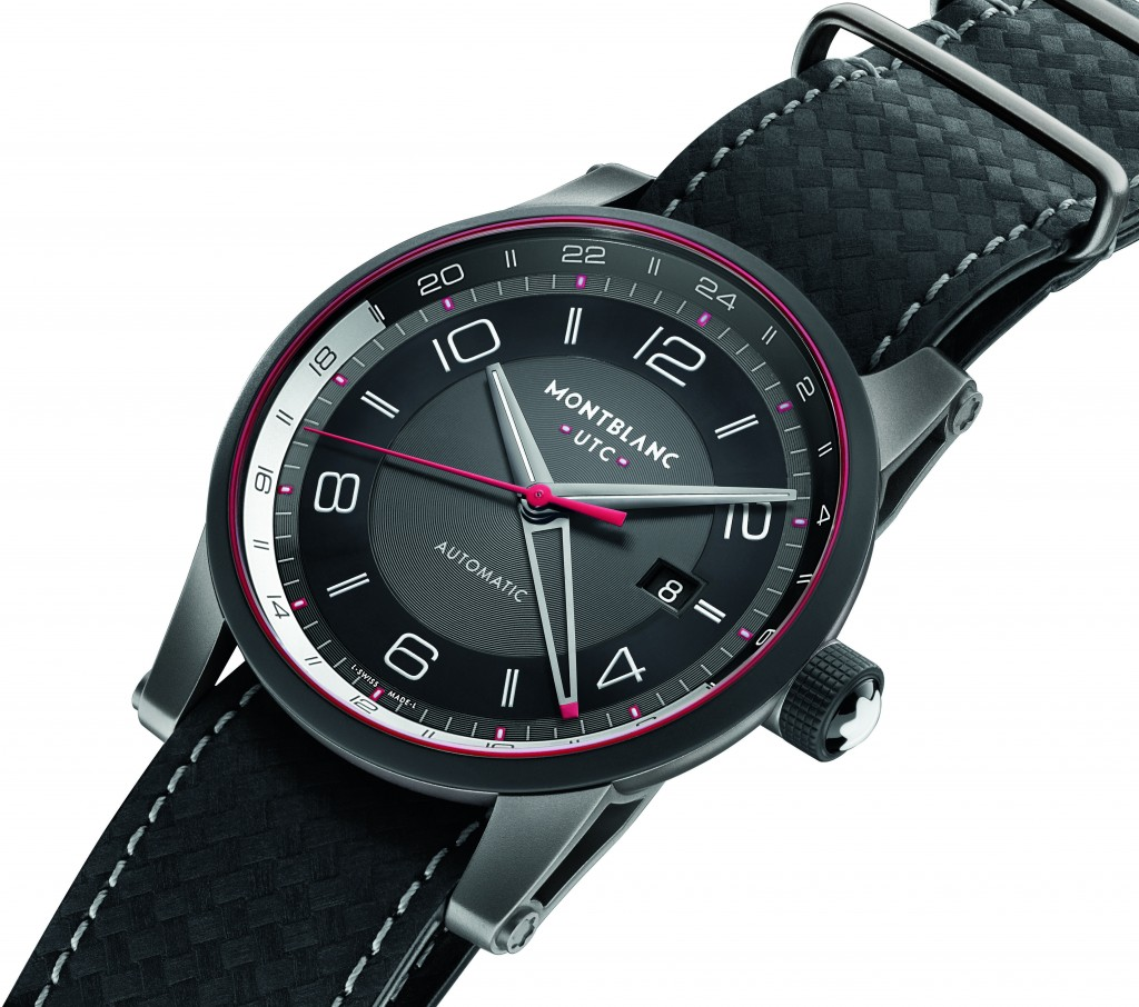 Side of Montblanc TimeWalker Urban Speed UTC E-Strap 02