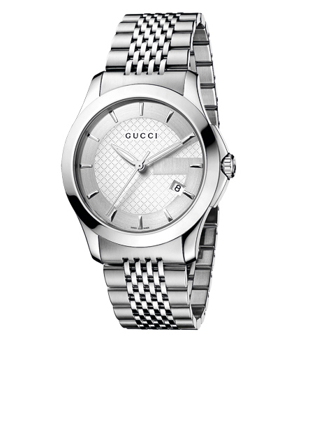 "Front of Gucci Men's YA126401 ""G-Timeless"" watch 02"