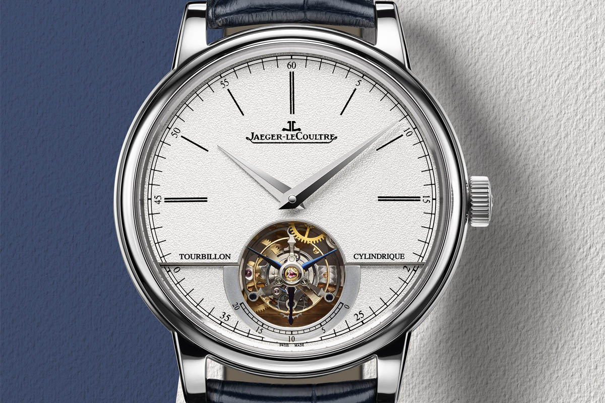 Front of Jaeger LeCoultre Master Grande Tradition Tourbillon Cylindrique