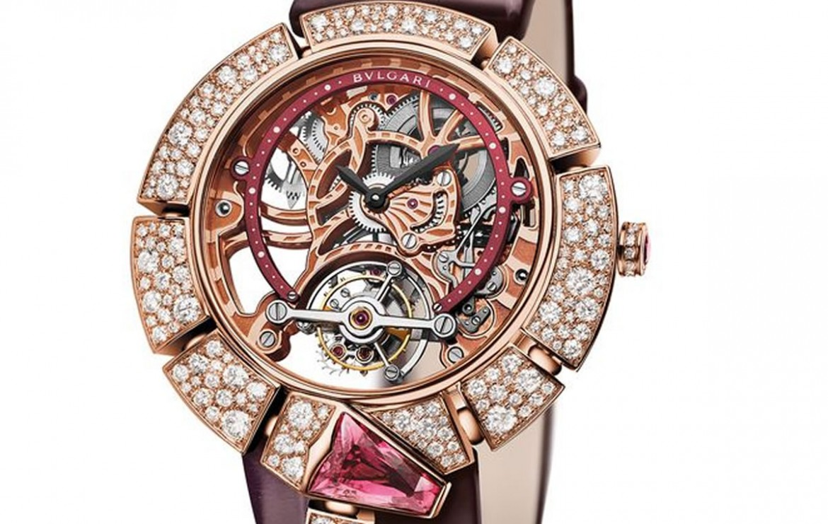 Bulgari Serpenti Incantati Skeleton Tourbillon pink gold 02