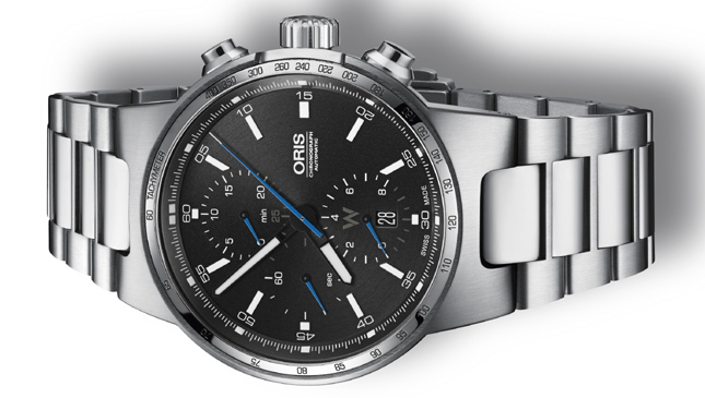 Side of Oris Williams Chronograph 02